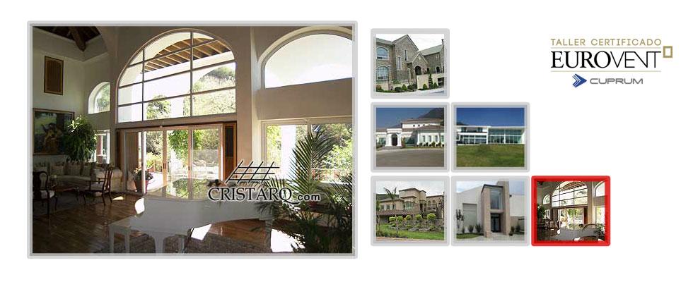 Cristarq ventanas de aluminio en monterrey mexico for Ventanas de aluminio en monterrey