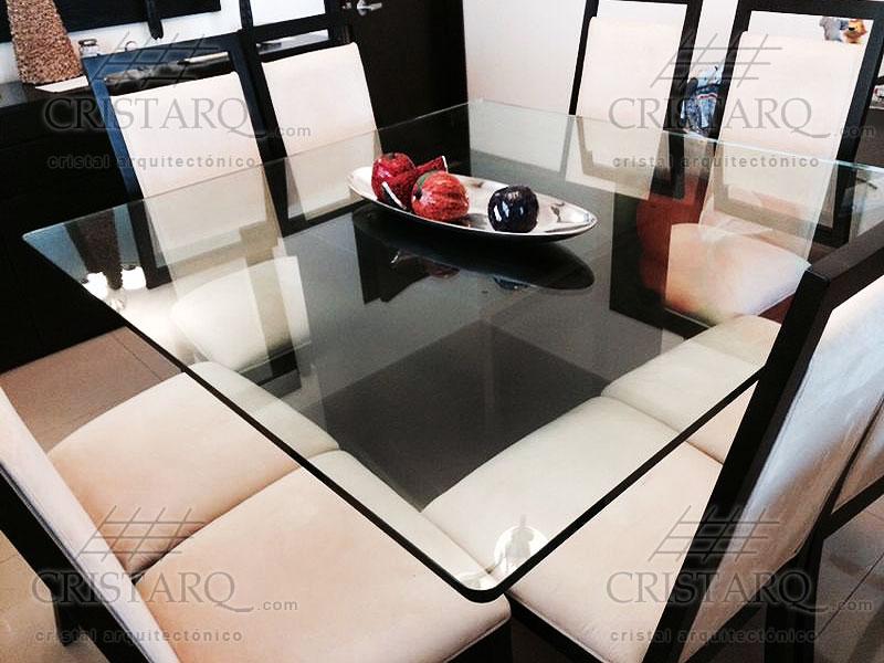Cristarq galer a de trabajos realizados en cubiertas de for Precios de comedores en vidrio