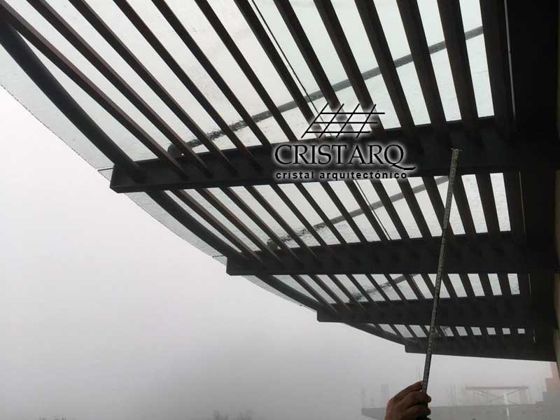 Cristarq : Galeru00eda de trabajos realizados en Domos de Policarbonato ...