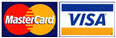 Aceptamos Tarjetas de Crédito Visa y MasterCard